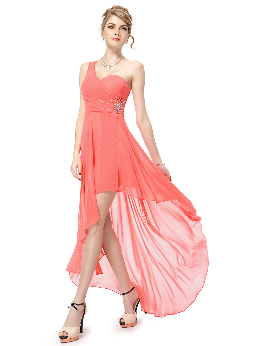 Ever-Pretty High-Low Beaded Homecoming Party Dresses Cocktail ...