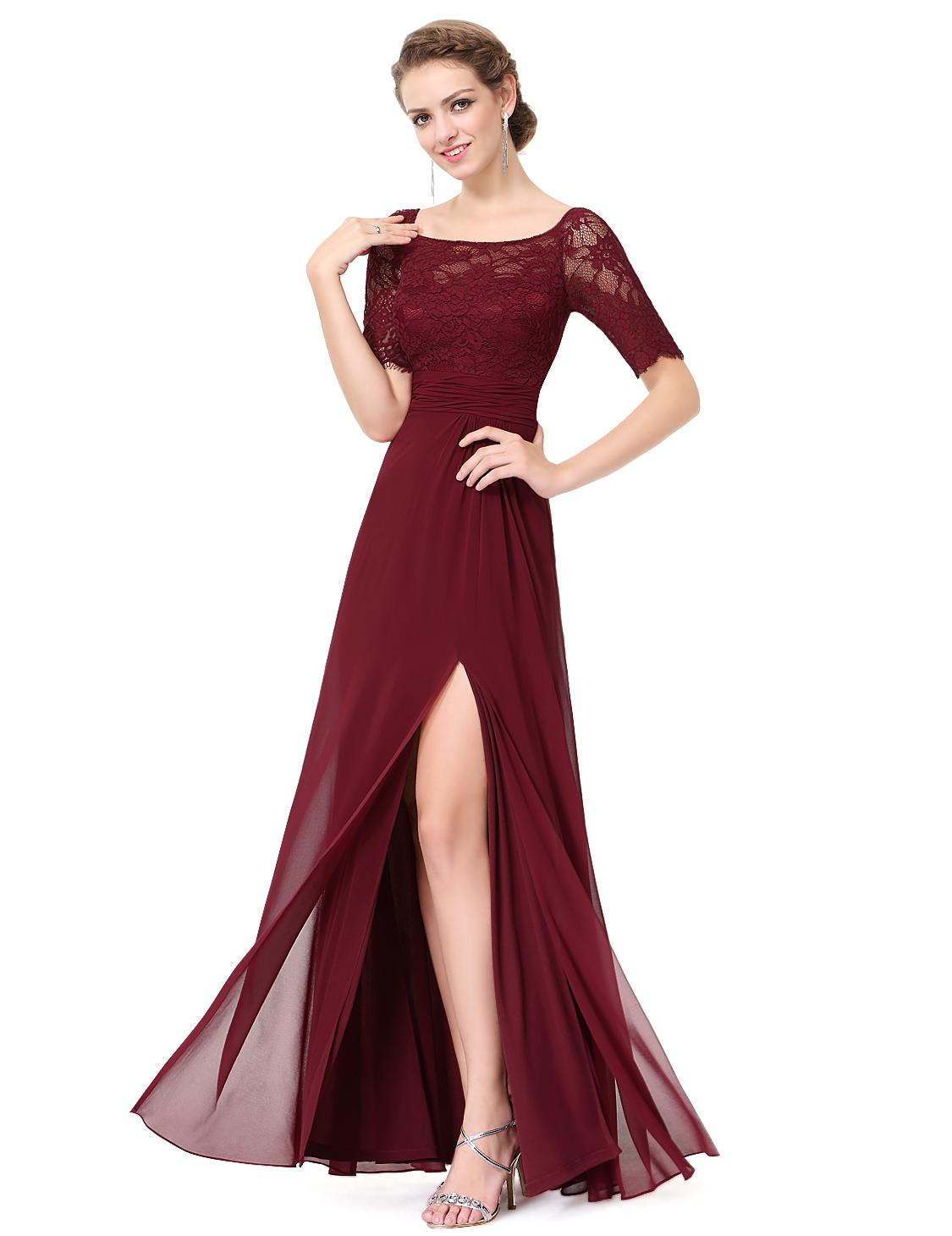 ever pretty women 39 s bridesmaid long evening party dress. Black Bedroom Furniture Sets. Home Design Ideas