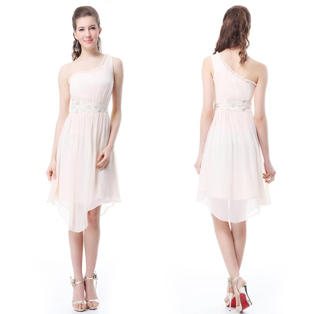 Ever Pretty Lace Chiffon Cocktail Bridesmaid Short Ladies ...