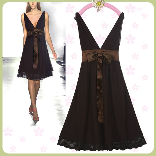 New Sexy Brown Polyester Mesh Party Dress 02718 Sz 2XL on eBay.ca (item 220513945905 end time  30-Nov-09 19:22:43 EST)