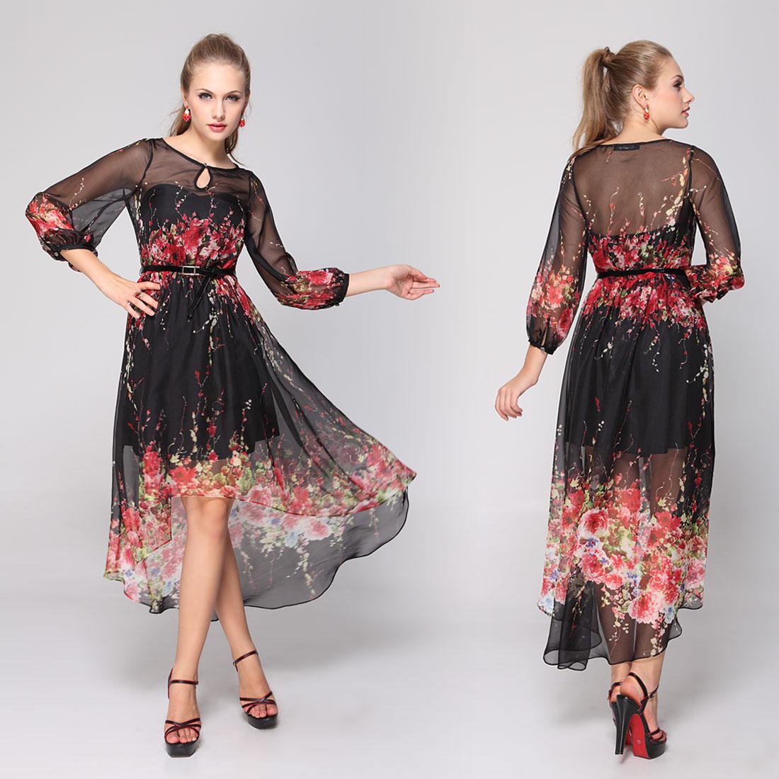 фото вечерних платьев в стиле ретро