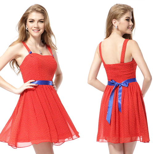 2014-Girls-Short-Red-Bridesmaid-Party-Prom-Dresses-Mini-Gowns-05044-Size-6-8-10