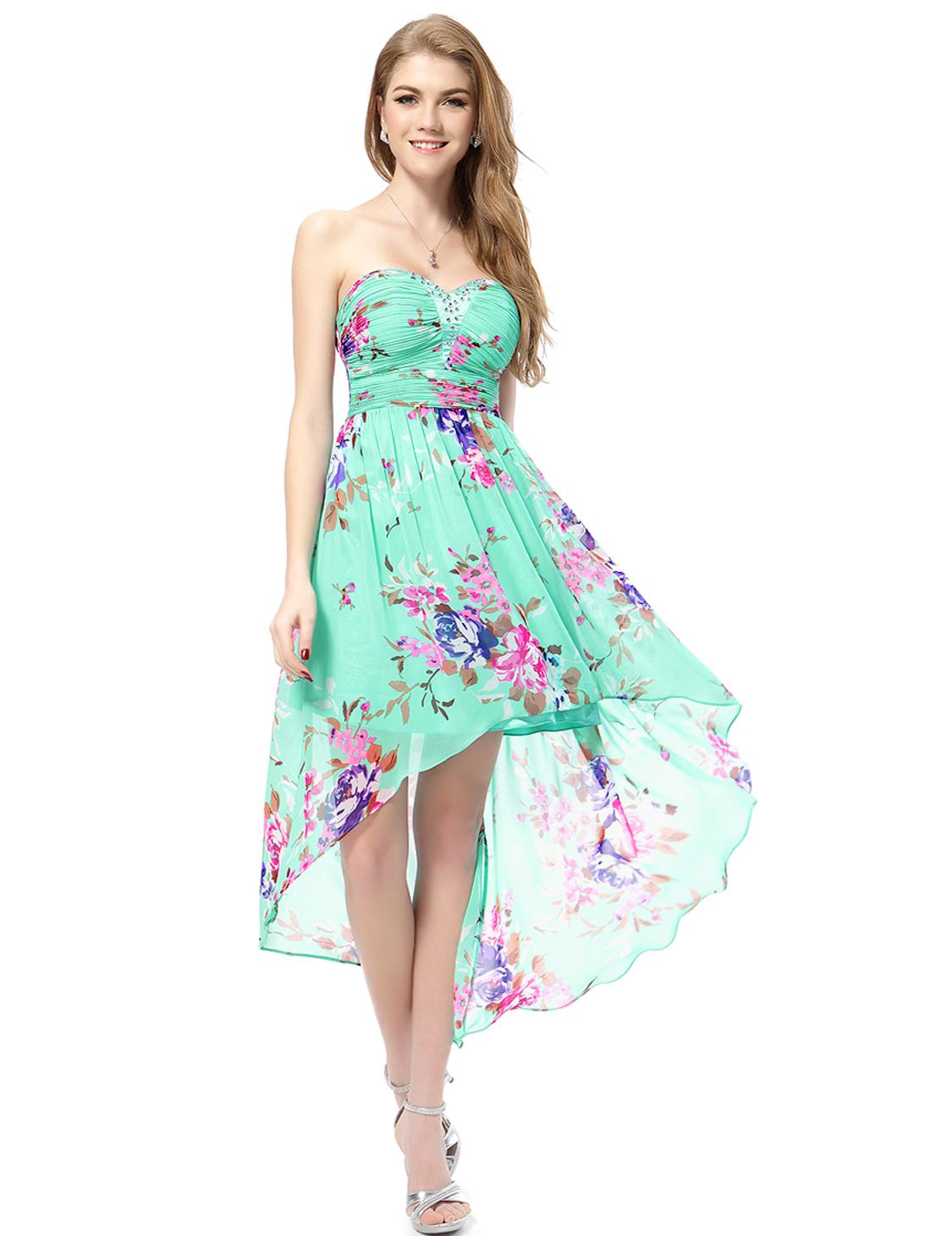 Sweetheart Neckline Summer Dresses