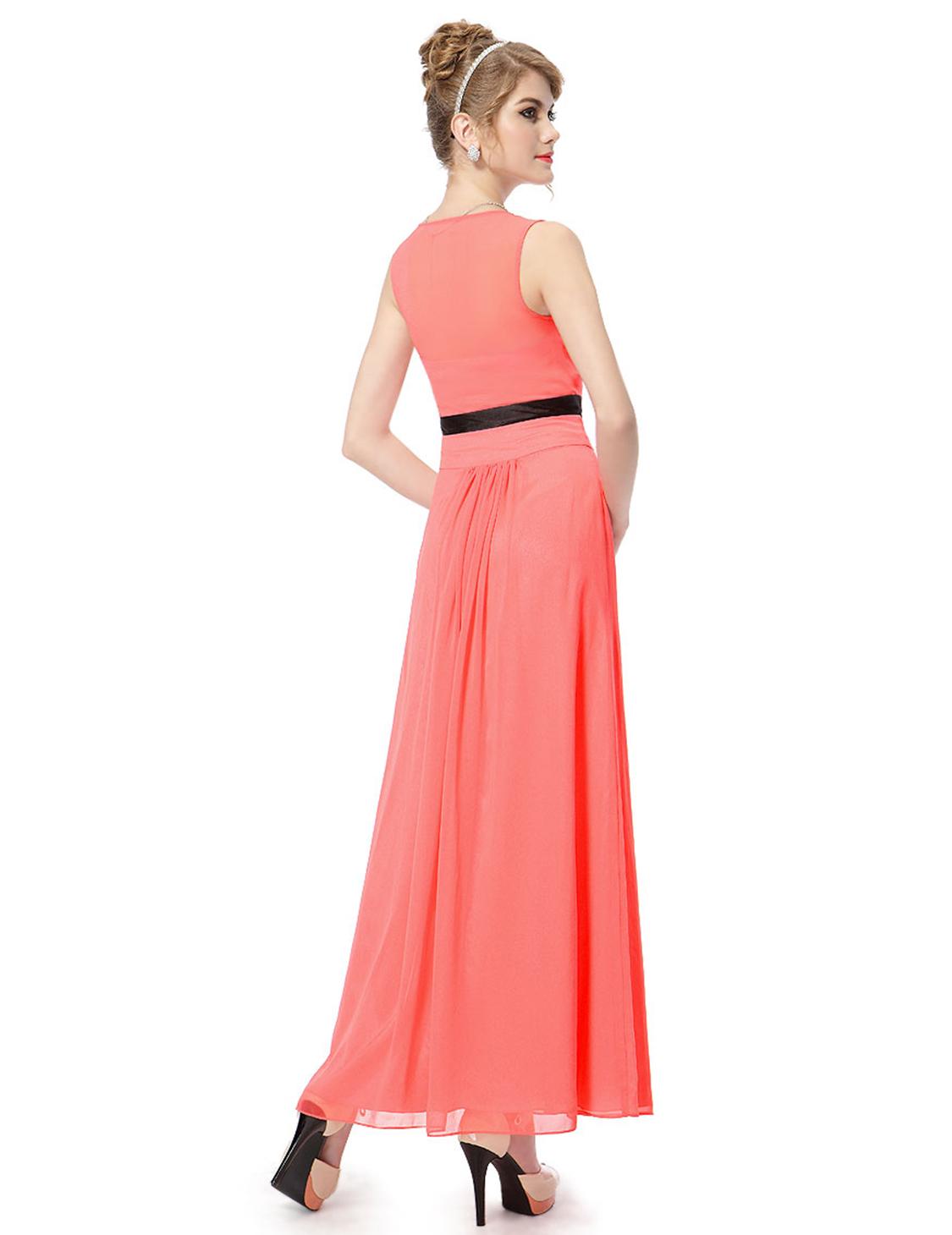 Wedding Dresses 08053 : Ever pretty free shipping coral ladies long bridesmaid