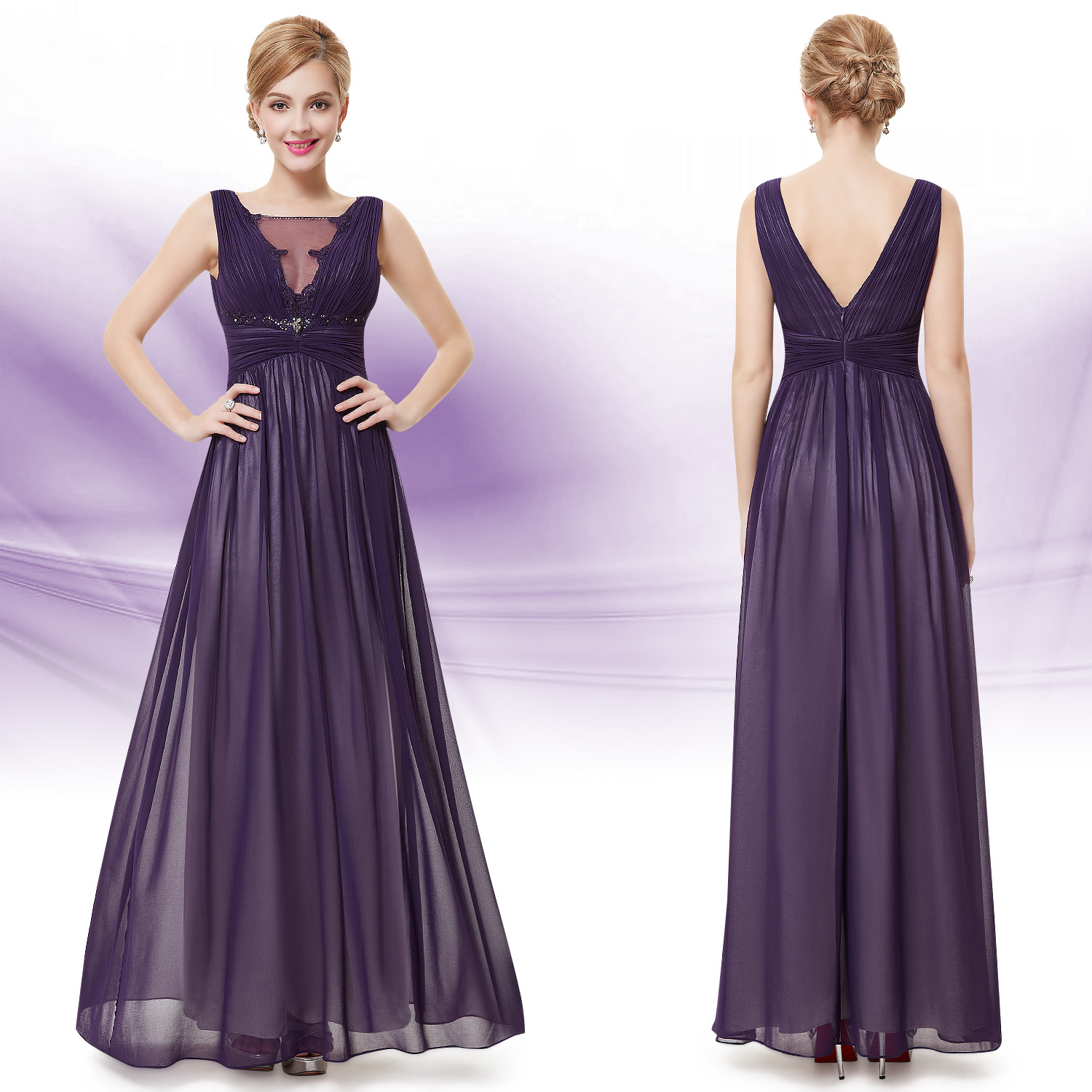 Ever Pretty Maxi Special Occasion Formal Evening Party Homecoming ...