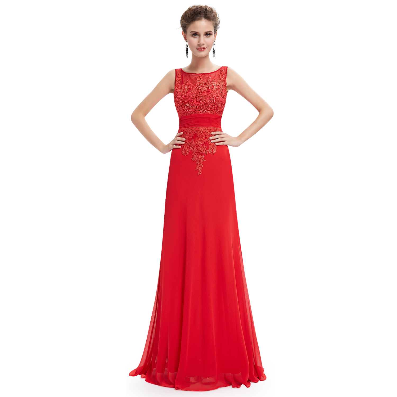 Ever Pretty Women New Long Elegant Red Party Evening ...