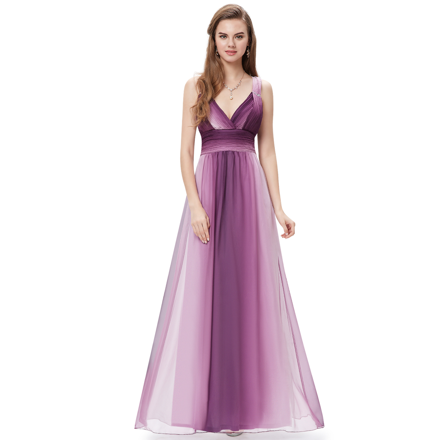 Ever Pretty US Women Long Evening Party Ball Gown Bridesmaid Prom ...