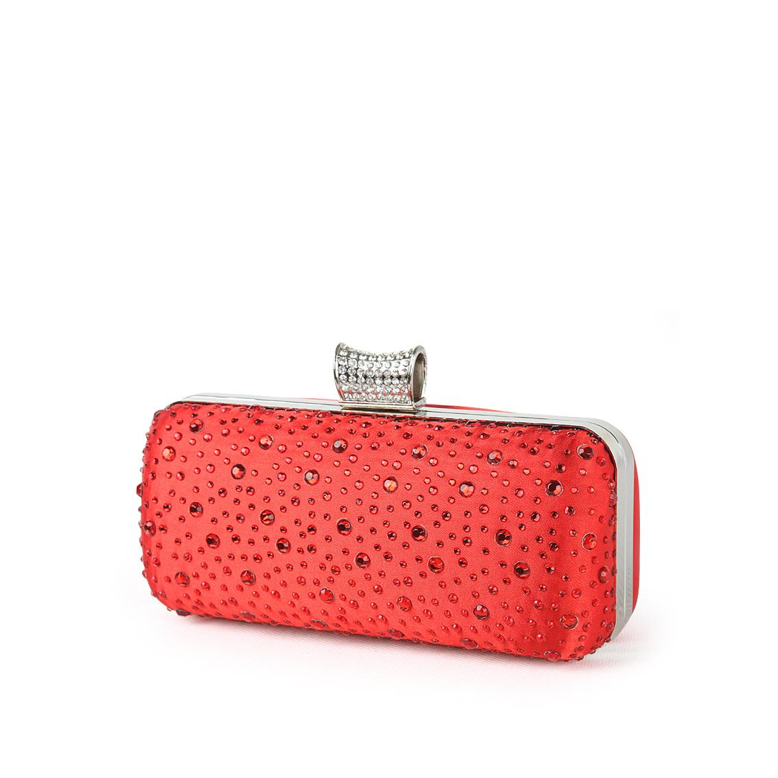 Ever-Pretty Ever Pretty Satin Scattered Rhinestones Bridal Evening Clutch Bag 20467 at Sears.com