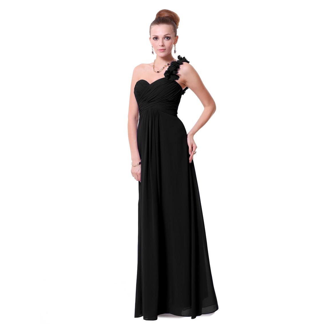Ever-Pretty Ever Pretty Flowers One Shoulder Chiffon Maxi Evening Dress 09768 at Sears.com