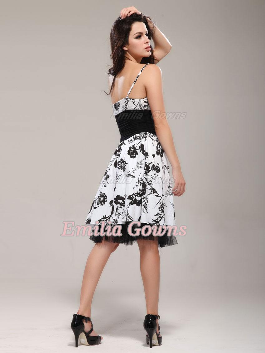Платье Белое С Черным Доставка