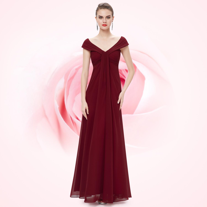 Prom sexy V-Ausschnitt lange Party Kleid Abendkleid 08457 ...